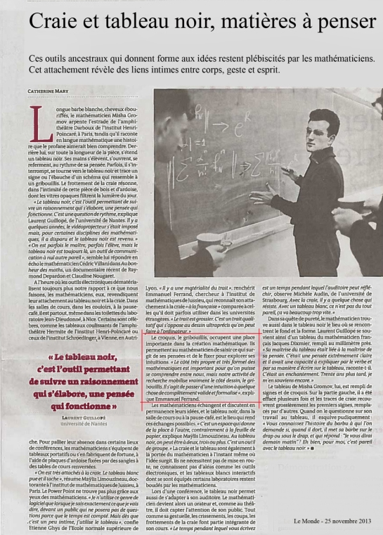 Le Monde 251113