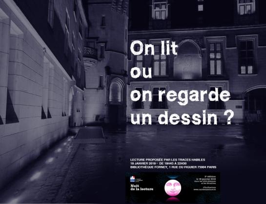 Les Traces Habiles Nuit de la Lecture 2019
